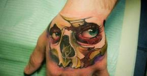 Tatuaje sexy calavera