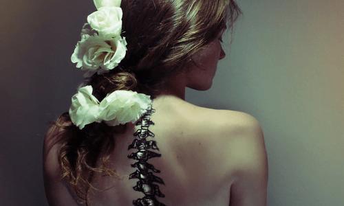 Tatuaje en espalda para mujer