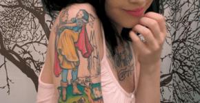 Tatuaje Blanca Nieves
