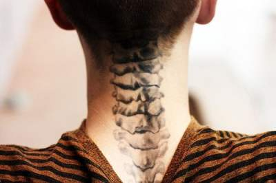 Tattoo Spinal Cord