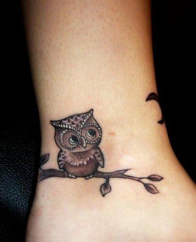 tattoo little owl