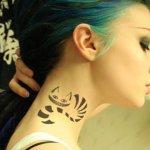 tattoo chessire cat