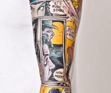 tatuaje comic