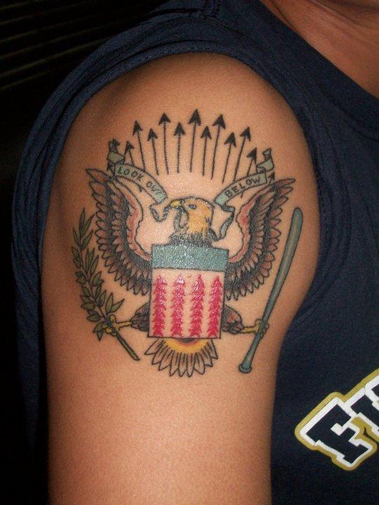 The Ramones tattoo