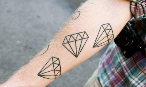 Diamonds tattoos