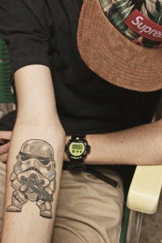 tatuaje chibi
