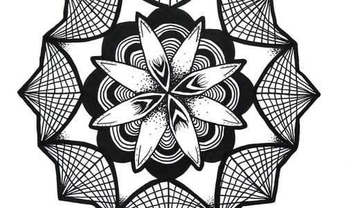 diseño Mandala tatuaje