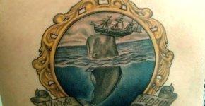 Tatuaje Moby Dick