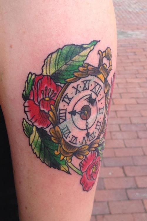 Tattoo Pocketwatch