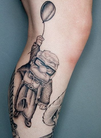 Tatuaje Up (la película)