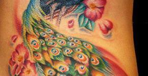 Tatuaje pavoreal