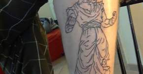 DBZ tatuajes