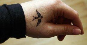 Golondrina tatuada