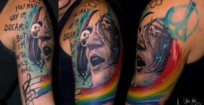 Beatles tatuaje
