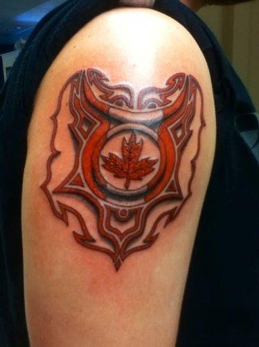 Canadian Pride Tattoo