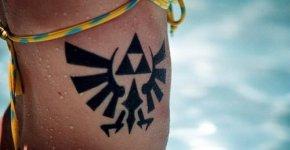 The Legend of Zelda tattoo