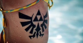 The Legend of Zelda tattoo