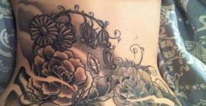 Tatuajes cintura