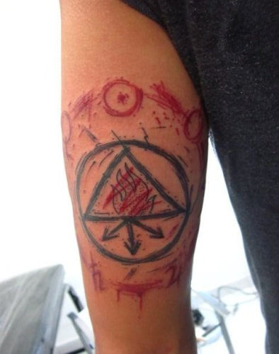 alchemy tattoo