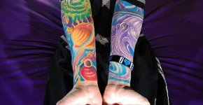 full color tattoos