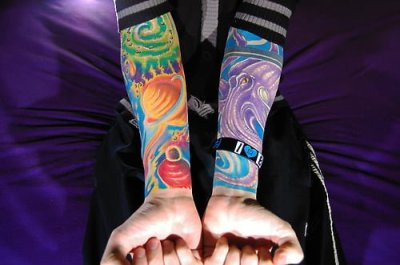 full color tattoos