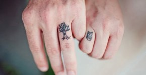 tatuajes en los nudillos (pareja)