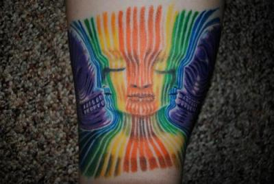 Tatuajes por Alex Grey
