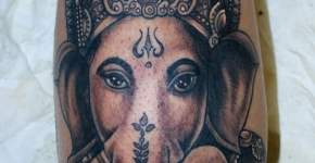 tatuaje ganesha