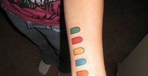 Tatuaje de Guitar Hero