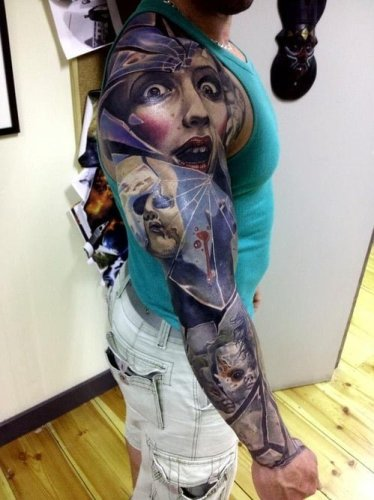 marcin Sonski tattoos