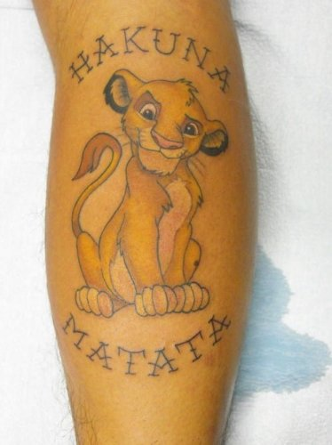The Lion King Tattoo