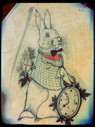 Diseño de conejo por Dedo Hangman