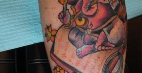 Tatuajes deidades hindus