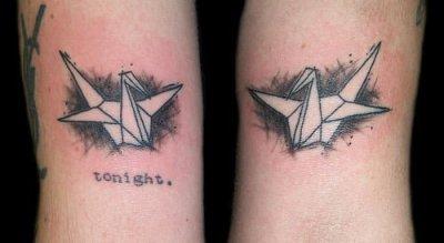 Tatuajes de origami