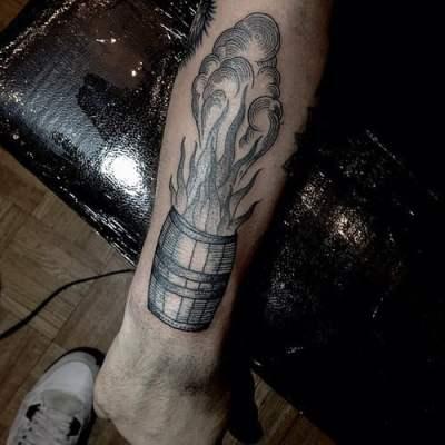 barrell tattoo