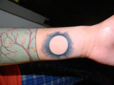 Eclipse tattoo