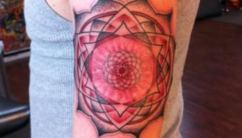 Mandala Tatuado En El Brazo Tatuajesxd
