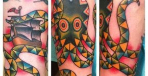 Phil at Cap City Tattoo Co, Columbus, OH
