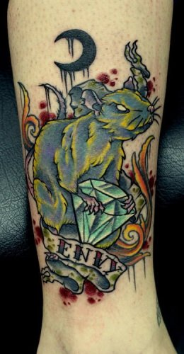 Seven sins tattoos
