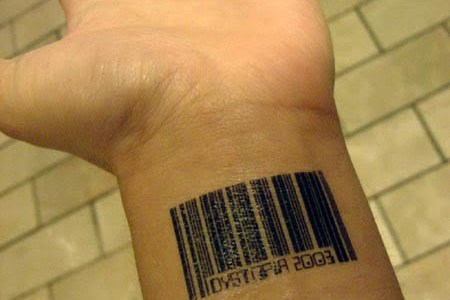 Tattoo codigo de barras