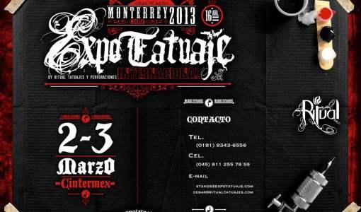 Expotatuaje Monterrey 2013