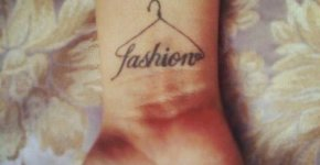 Fashion tattoo