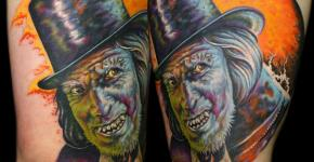 Mr. Jeckyl tattoo