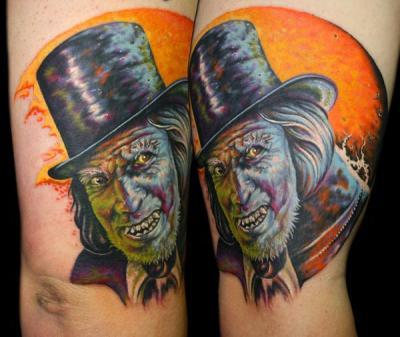 Mr. Jeckyl tattoo