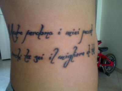 italian phrases tattoo
