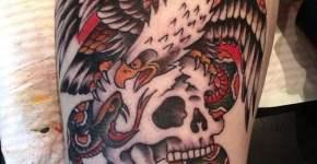 Richard Stell tattoo
