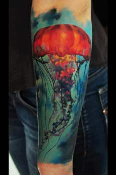 best jellyfish tattoo