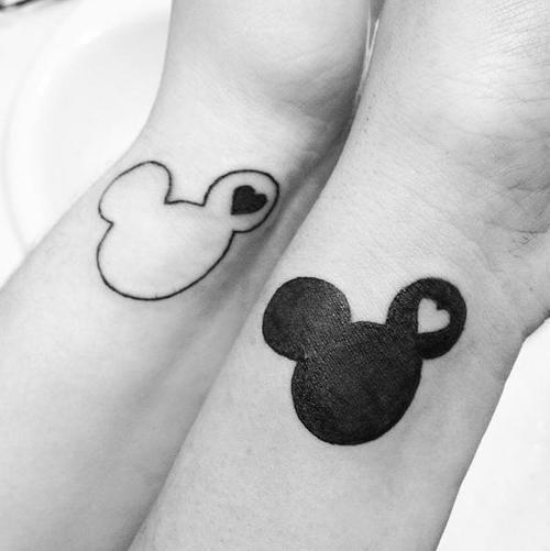 Mickey Mimi Wrist Tattoos Tatuajesxd