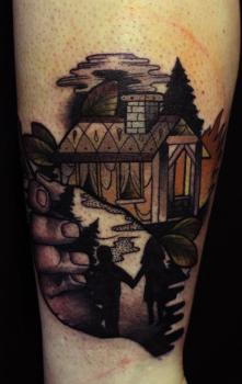 Cottage tattoo