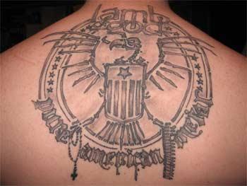 tatuaje de lamb of god
